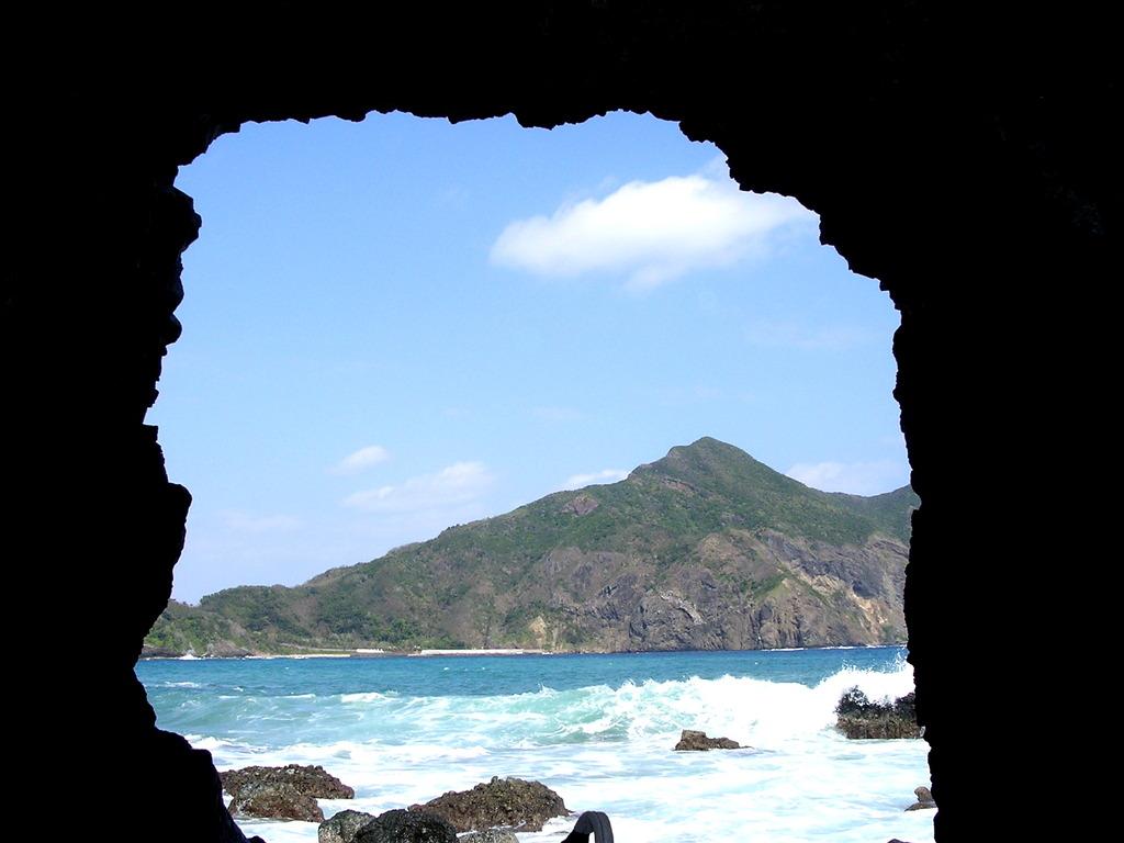 特攻ボート震洋・基地からの風景