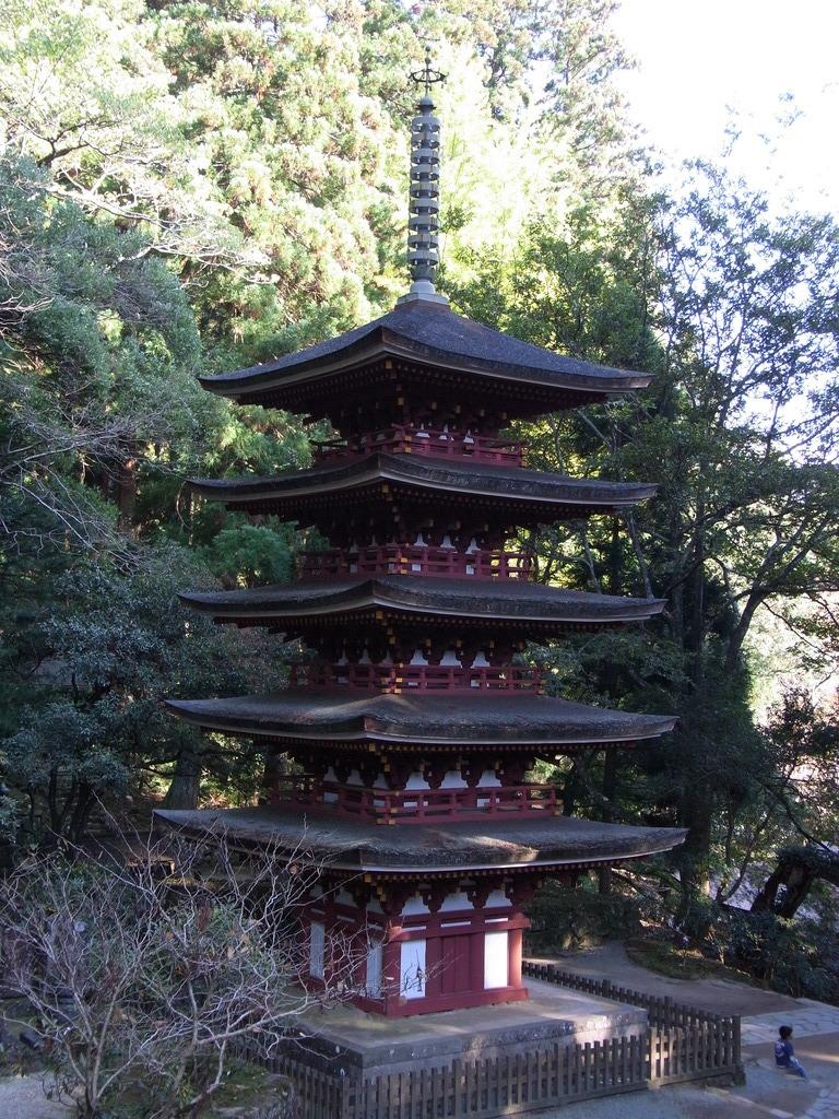 室生寺 五重塔Ⅱ