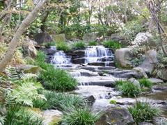 姫路城近くの庭園