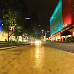 CANON Canon EOS 40Dで撮影した風景(ON THE ROAD / CENTRE POINT)の写真(画像)