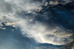 たなびく夕雲