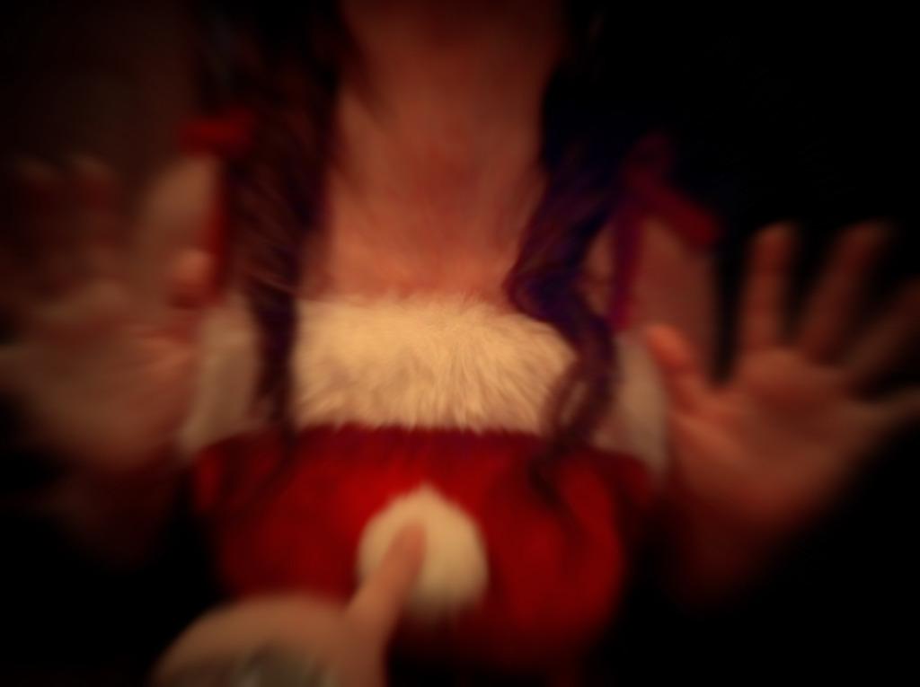 サンタの秘密のスイッチを・・・