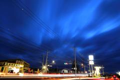 typhoon previous night