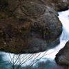 塩原渓谷の流れ