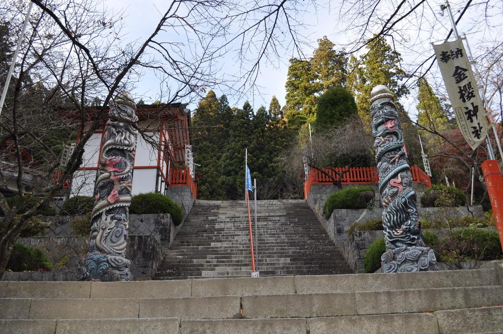 金桜神社の石段_その2
