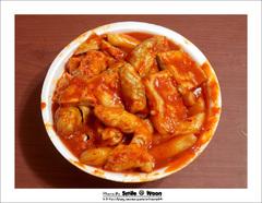 ddok bok ki (韓国食べ物)