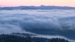 Flow of the sea of clouds