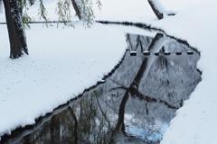 雪のせせらぎ