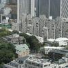 米国大使館 住居棟 09年9月
