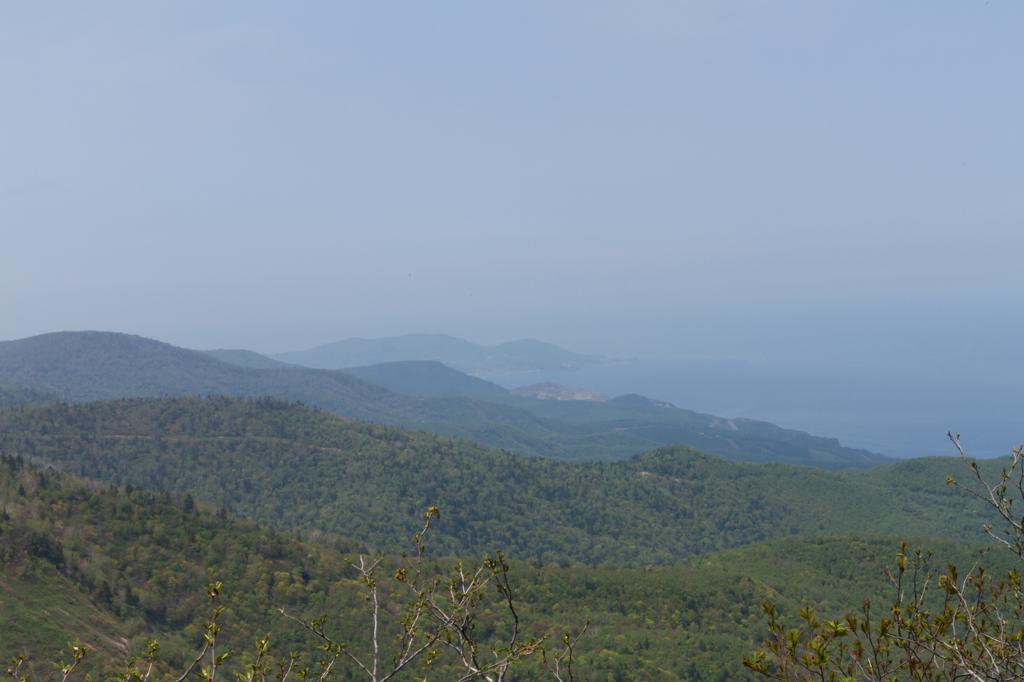 手稲山から小樽方向