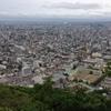山頂から札幌市街