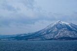 支笏湖畔から恵庭岳