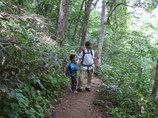 円山登山道