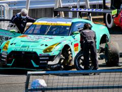 SUPER GT 公式テスト走行&ファン感謝デー