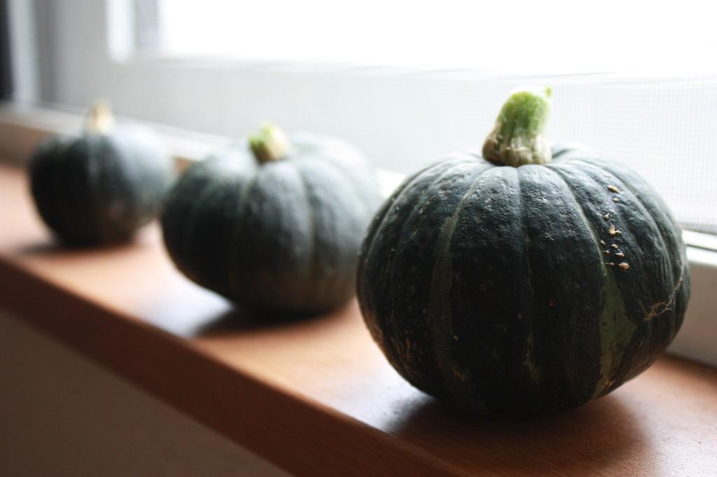 かぼちゃ三兄弟