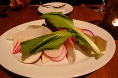 バーニャカウダのお野菜