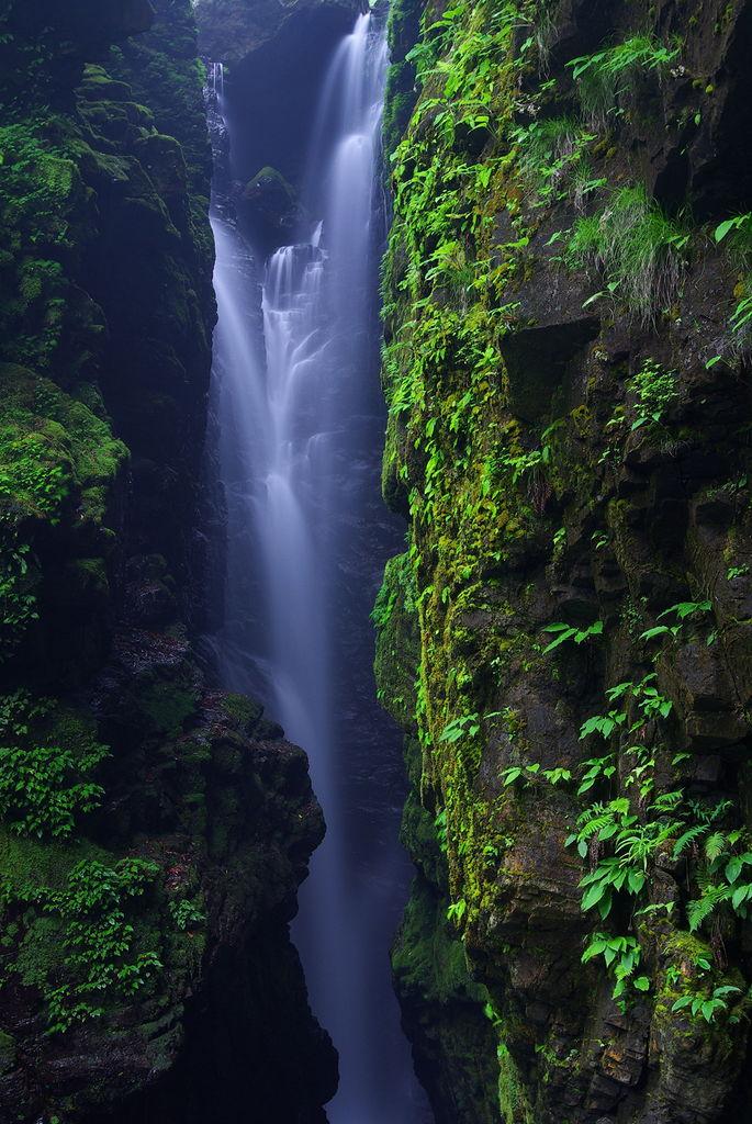 2009_06_14 日本の滝100選 轟九十九滝(本滝)