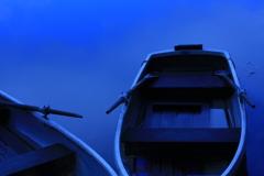 蒼いボート