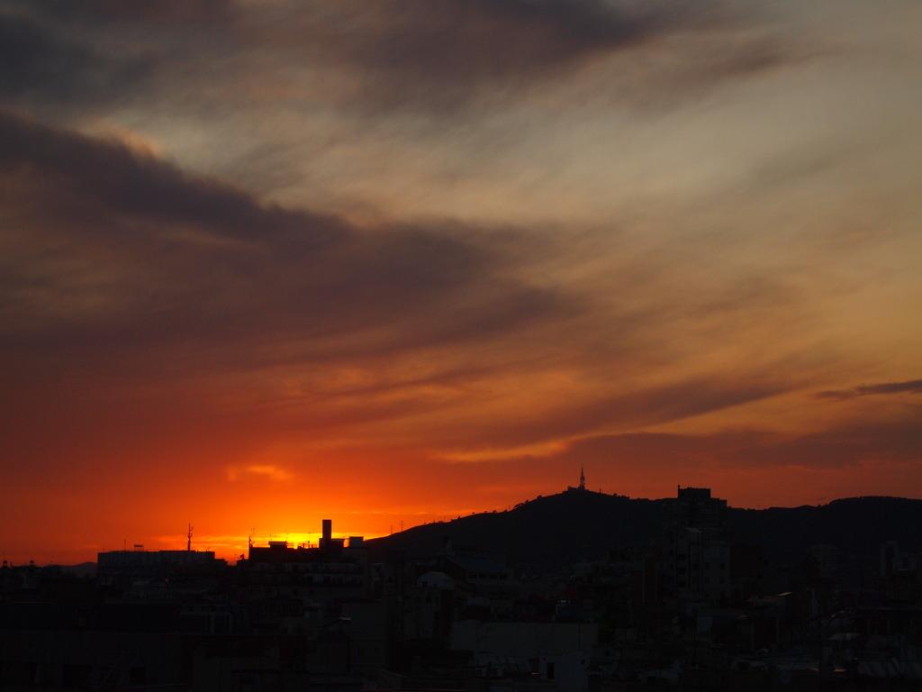 夕日ってこんなに・・・