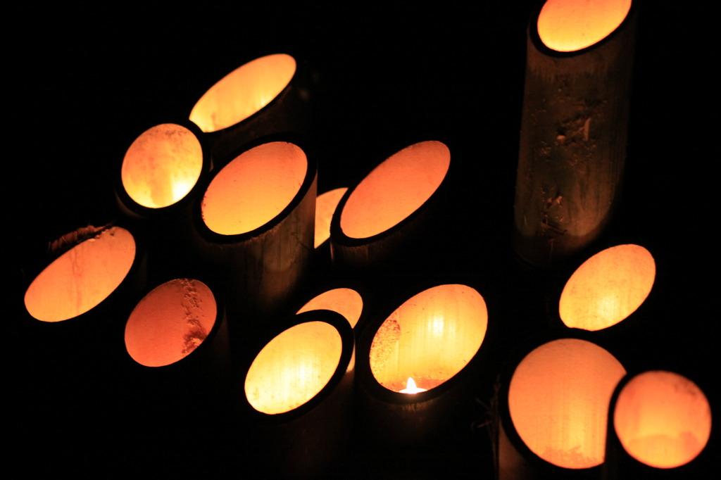 竹灯篭 ②