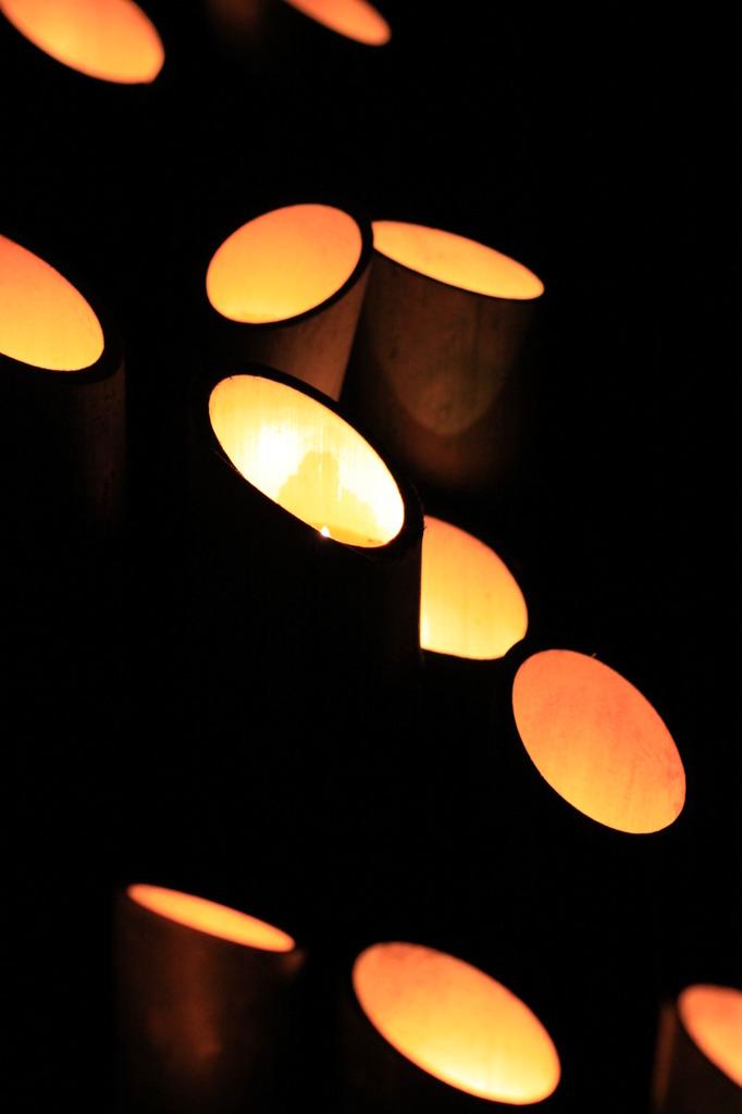 竹灯篭 ①