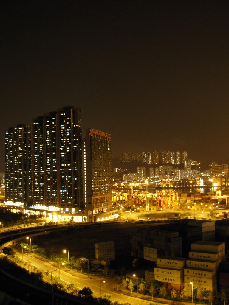夜景in香港