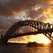 Harbour Bridge の夕暮