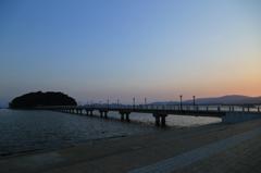 竹島 夕暮れ