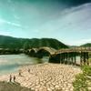 昔っぽい錦帯橋