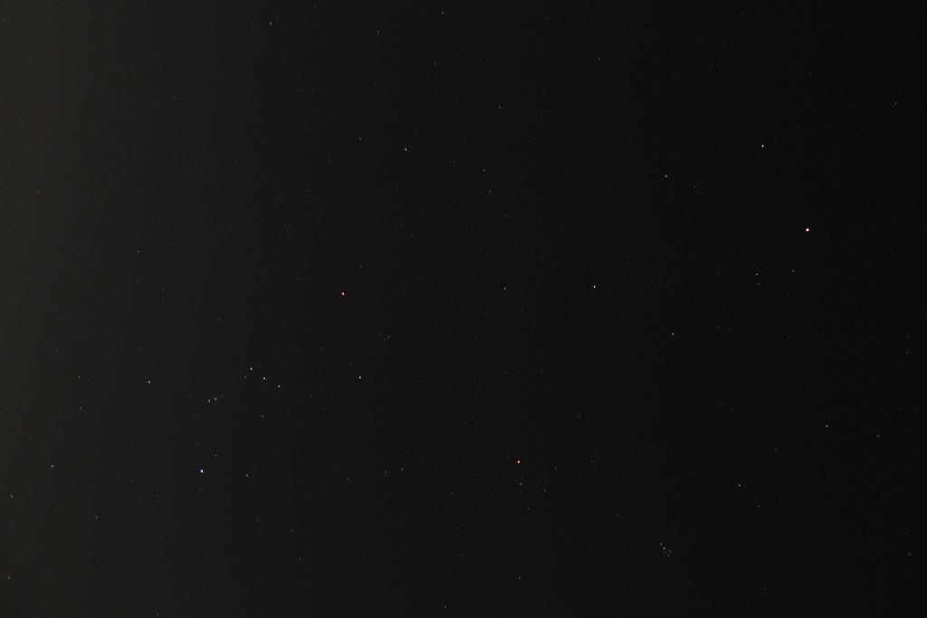 オリオン座と昴