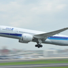 BOEING787 in伊丹