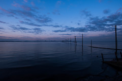 夜明けの江川海岸
