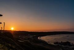 犬吠埼の夕日