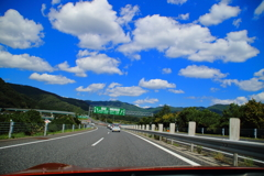ドライブ in 岡山自動車道
