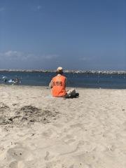 海を守る人