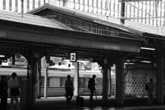 京都駅「今昔」