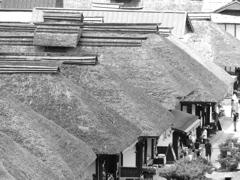 大内宿「屋根」