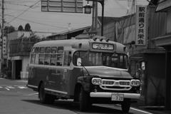 駅前風景「まるで昭和」