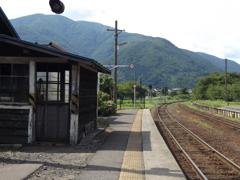 会津鉄道「芦ノ牧温泉駅①」