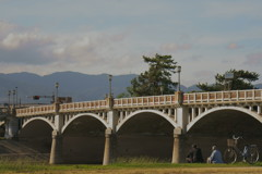 武庫大橋「背中」