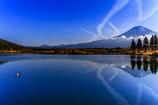 田貫湖からの朝富士0106