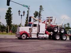 Kenwerth  W900   Logging truck