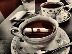 休日のcafe