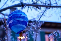 雨のガラス玉