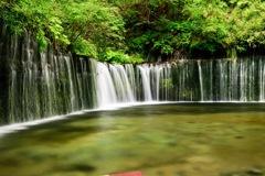 軽井沢白糸の滝で初NDフィルター撮影