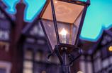 暖かな街灯