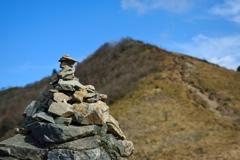 山頂まですぐ