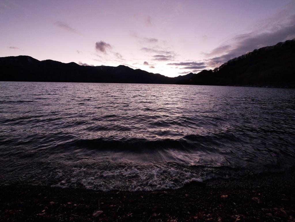 夕方中禅寺湖