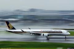 雨の日は空港へ!