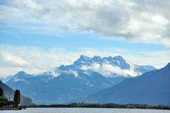 MONTREUX レマン湖のほとり